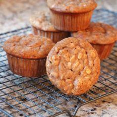 Skinny  Banana Oat Muffins