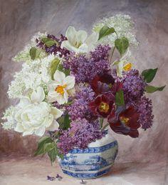 Виктория Кирьянова. Букет садовых цветов, 2011