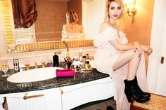 Emma Roberts Dishes On Her Favorite Accessories For Fall #refinery29  http://www.refinery29.com/2014/07/71963/emma-roberts-jimmy-choo-photo-diary#slide6