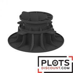 Plot terrasse réglable 80/140 mm pour lambourde