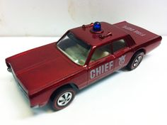 1970 Hot Wheels Fire Chief Cruiser Redline $49.95...I have this! $50??? Might have just found my new goldmine!!!