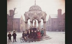 Kids from the Liberties in Dublin. - used to walk past this with my cousin on way to my aunts