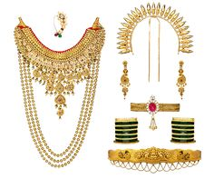 Traditional Maharashtrian Jewellery | Traditional Gold Jewellery