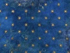 Giotto - detail of the ceiling of the Scrovegni Chapel, Padua , circa 1305 / collection of images curated by S Ellcock Look At The Stars, Stars And Moon, Starry Ceiling, Casa Milano, Architecture Unique, Web Design, Book Design, House Design, Sky Painting