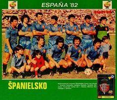 Spain team group in 1982.