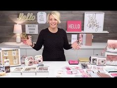 Heidi Swapp InstaLove Fall 2016 Overview - YouTube