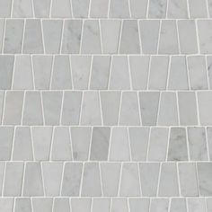 MSI Carrara White Trapezoid Pattern Polished, Home Depot Marble Tile, Shower Tile, Marble Bathroom, Marble Mosaic Tiles, Marble Mosaic, Mosaic Tiles, Flooring, Carrara, Bathroom Flooring