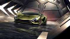 Most powerful Lamborghini: the new Lamborghini Sian - with e-motor or mild hybrid. View more about the new Lamborghini Sian here. Lamborghini Veneno, Aston Martin Vanquish, Pagani Zonda, Bmw Z4, Nissan 370z, Frankfurt, Audi R8, Autos, Cars