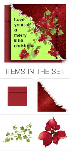 """Christmas Card"" by emjule ❤ liked on Polyvore featuring art"