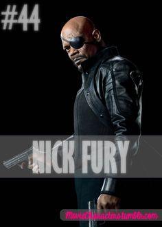 NICK FURY    Played By: Samuel L. Jackson    Film: Iron Man / Iron Man 2 / Thor / Captain America / The Avengers    Year: 2008 / 2010 / 2011 / 2011 / 2012