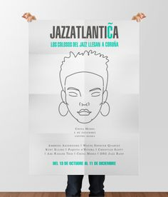 Mupi Jazzatlántica #design #creatividad #artdirection