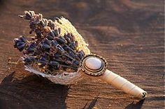 Svadba - Pierko pre ženícha s kvietkami levandule - 3289806 Floral, Jewelry, Jewlery, Jewerly, Flowers, Schmuck, Jewels, Jewelery, Flower