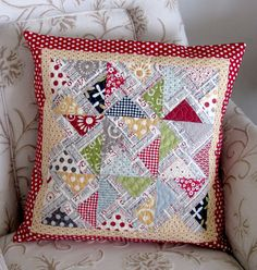 PTS7 Complete | Your pillow is finished! I hope you like it … | Flickr