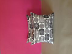 Biscuit mix cushions by Nikki McWilliams in Cool Monotone. £29.50 each, available at www.nikkimcwilliams.com