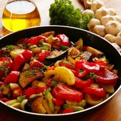 Roasted Rosemary Ratatouille