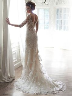 Verina Wedding Dress by Maggie Sottero | back
