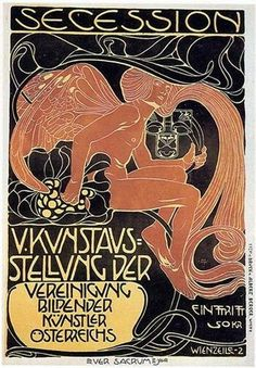Poster for the 5th exhibition of the Wiener Secession, 1899 by Koloman Moser.