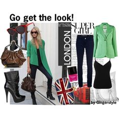 A fashion look from February 2012 featuring sexy vest, inside pocket jacket and blue skinny jeans. Browse and shop related looks. Blue Skinny Jeans, Get The Look, Fashion Looks, London, My Love, Sexy, Polyvore, Jackets, Shopping