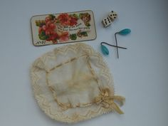 ANTIQUE FRENCH FASHION DOLL ACCESSORIES. Now available from: kimsdollgems2