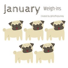 January 2020 Weigh in Tracker