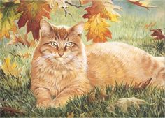 Persis Clayton Weirs Cat Art