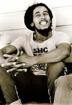 A musician first and foremost, but also a lover of ' footie' (soccer). Bob, Bob...Marley, you would have been one awesome person to meet.