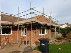 23rd November. The scaffolding has been up for two weeks now but work should be starting tomorrow.