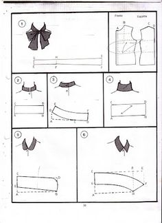 Sewing Hacks, Sewing Tutorials, Sewing Projects, Sewing Crafts, Techniques Couture, Sewing Techniques, Pattern Cutting, Pattern Making, Clothing Patterns
