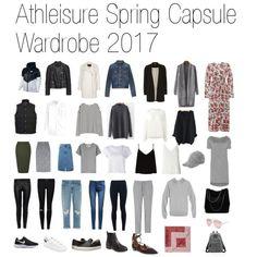 Athleisure Spring 2017 Capsule Wardrobe