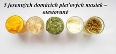 5 jesenných domácich pleťových masiek – otestované Breakfast, Diy, Food, Morning Coffee, Meal, Bricolage, Essen, Hoods, Do It Yourself