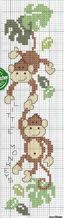 revistas baby punto de cruz motivos de animales de la selva - Buscar con Google