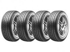 Conjunto de 4 Pneus Bridgestone 205/60R15 Aro 15 - Turanza ER300