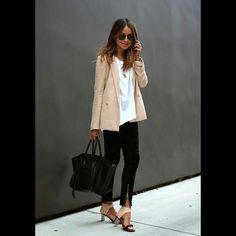 Propuesta de look para hoy jueves 18 …un estilo femenino y elegante para mañana laboral… #maunaloa #outfits #look