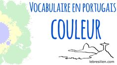 Vocabulaire Portugais Brésilien - Couleurs