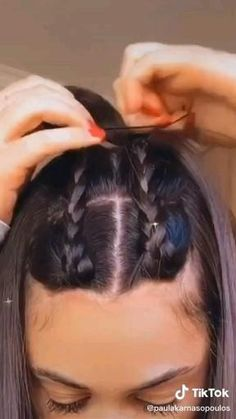 Front Hair Styles, Medium Hair Styles, Curly Hair Styles, Natural Hair Styles, Easy Hairstyles For Long Hair, Braided Hairstyles, Long Hairstyle, Baddie Hairstyles, Latest Hairstyles