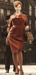 "Perfect ""Joan/Mad Men"" dress"