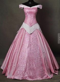 Princess Aurora Adult Costume Sleeping Beauty Cosplay Pink Dress Halloween Party | Clothing, Shoes & Accessories, Costumes, Reenactment, Theater, Costumes | eBay!