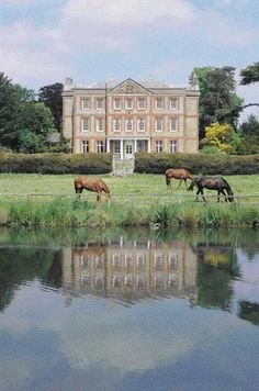Ardington House in Oxfordshire was a favourite of Sir John Betjeman. Poet Laureate as a wedding guest?