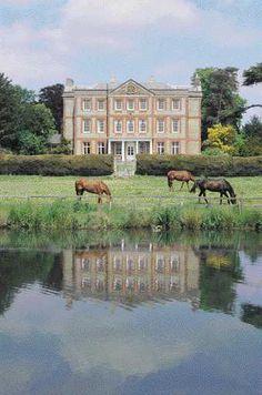 Ardington House in Oxfordshire was a favourite of Sir John Betjeman. Poet Laureate as a wedding guest?
