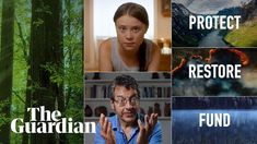 Gripping Films released a short film in which environmental activist Greta Thunberg and George Monbiot talk about natural climate solutions and the need to protect, restore and use nature to tackle the climate crisis. Environmentalist, World Peace, How To Make Shorts, Save The Planet, The Guardian, Short Film, Climate Change, Videos, Restoration