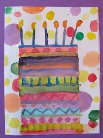The Chocolate Muffin Tree: Inspiration to Create Birthday Cards line design Create Birthday Card, Birthday Cards, Ballon Party, Diy Halloween Dekoration, Kindergarten Art Lessons, First Grade Art, Ecole Art, Preschool Art, Art Lesson Plans