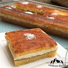 We have a wonderful recipe for dessert We know a . Easy Cake Recipes, Great Recipes, Dessert Recipes, Favorite Recipes, Desserts, Lebanese Recipes, Turkish Recipes, Ramadan Recipes, Frozen Yogurt