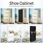 Shoe Cabinet Shoes Storage Rack Organiser Wooden White Black 6 Type   eBay Wooden Shoe Storage, Shoe Storage Cabinet, Modern Room, Seat Cushions, Space Saving, Organization, Type, Ebay, Furniture