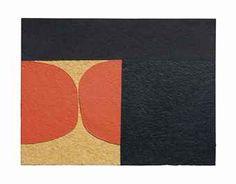 Alberto Burri (1915-1995)  Cellotex  firmato Burri (sul retro)  acrilico su cellotex  cm 48,8x64,2  Eseguito nel 1982