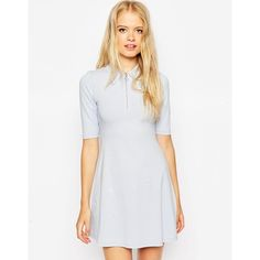 ASOS Floral Debutante Mini Dress ($38) ❤ liked on Polyvore