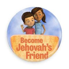 For our 2014 International Convention in Atlanta GA we revamped the jw.org children's logo and added everybodies favorite, Caleb and Sophia.  We made these cute buttons on wackybuttons.com. They can be translated in other languages and were a hit with the kids, delegates and everyone else!