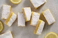 Gluten-Free Lemon Squares with an Almond Flour Crust: King Arthur Flour Cream Cheeses, Almond Flour Crust Recipe, Dessert Restaurant, Lemon Squares, Lemon Recipes, Free Recipes, Lemon Desserts, Dessert Recipes, Bar Recipes