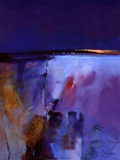 blue-horizon-by-peter-wileman #abstractart