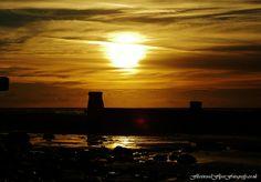 SUNSET ON OUR BEACH - JPG Photos