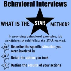 How to handle typical behavioral interview questions with first-rate sample interview answers. Job Interview Answers, Behavioral Interview Questions, Job Interview Preparation, Job Interview Tips, Job Interviews, Job Career, Career Advice, Job Info, Job Resume